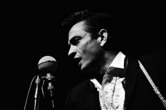 Johnny Cash At Newport