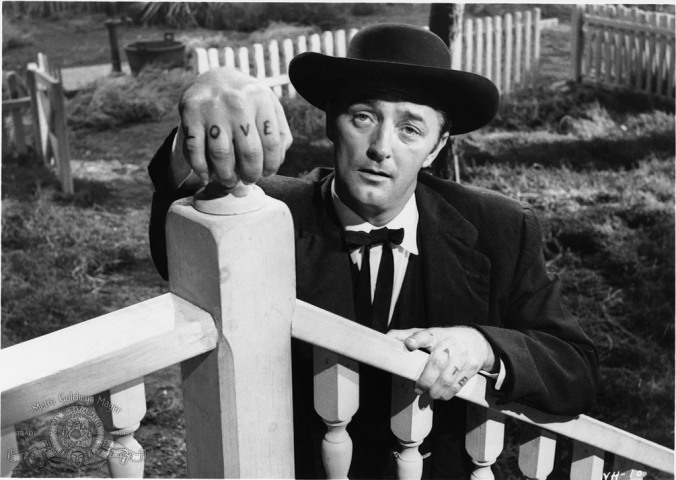 Robert Mitchum Night of the hunter